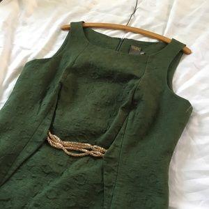 Green Taylor Sheath Dress Size 12